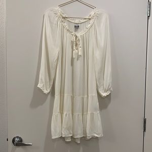 Aerie Gauze Tie Front Sleep or Coverup Dress